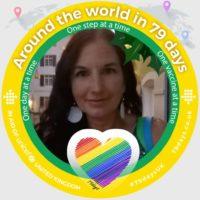 Helen Adams Around the World in 79 days