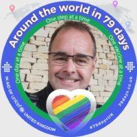Jez Tromans Around the world in 79 days